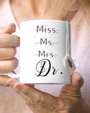 Miss Ms Mr Dr Doctorate Graduation Gift Mug ceramic-mug-lifestyle-68