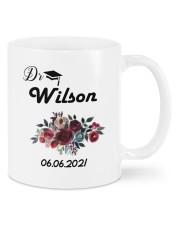 Miss Ms Mr Dr Doctorate Graduation Gift Mug front