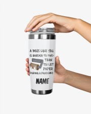 Personalized Name Boss Like You Is Harder to find 20oz Tumbler aos-20oz-tumbler-lifestyle-front-24
