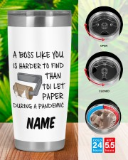 Personalized Name Boss Like You Is Harder to find 20oz Tumbler aos-20oz-tumbler-lifestyle-front-46