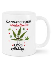 cannabe your valentine funny personalized name Mugs tile