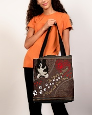 Border-Collie-dog-the-road-to-my-heart- All-over Tote aos-all-over-tote-lifestyle-front-06