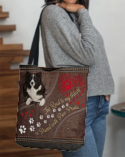 Border-Collie-dog-the-road-to-my-heart- All-over Tote aos-all-over-tote-lifestyle-front-09