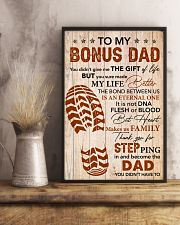 You Didn't Give Me The Gift Of Life - To Bonus Dad 11x17 Poster lifestyle-poster-3