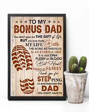 You Didn't Give Me The Gift Of Life - To Bonus Dad 11x17 Poster lifestyle-poster-8