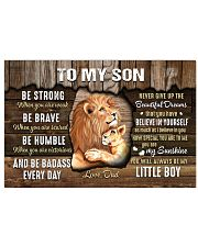 Be Strong When U Are Weak Dad To Son 17x11 Poster thumbnail