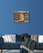 Be Strong When U Are Weak Dad To Son 14x11 Gallery Wrapped Canvas Prints aos-canvas-pgw-14x11-lifestyle-front-06