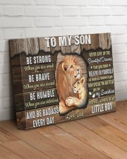 Be Strong When U Are Weak Dad To Son 14x11 Gallery Wrapped Canvas Prints aos-canvas-pgw-14x11-lifestyle-front-14