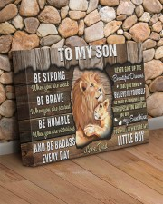 Be Strong When U Are Weak Dad To Son 14x11 Gallery Wrapped Canvas Prints aos-canvas-pgw-14x11-lifestyle-front-18
