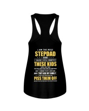 I Am The Best Stepdad Ever Ladies Flowy Tank thumbnail