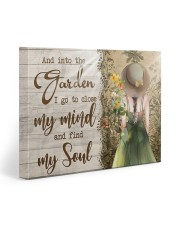 And Into The Garden I Go To Close My Mind Gallery Wrapped Canvas Prints tile