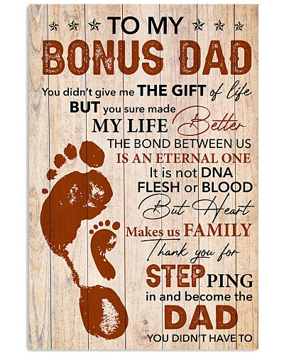 Bonus Dad Thanks For Steping And Become The Dad