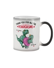 Thank you for all the roargasms - without name Color Changing Mug tile