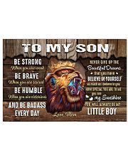 Be Strong When U Are Weak Brave Humble Mom To Son 17x11 Poster thumbnail