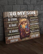 Be Strong When U Are Weak Brave Humble Mom To Son 20x16 Gallery Wrapped Canvas Prints aos-canvas-pgw-20x16-lifestyle-front-11