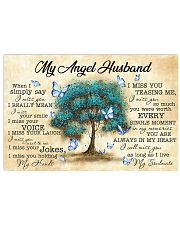 Husband I'll Miss You As Long As I Live 17x11 Poster front