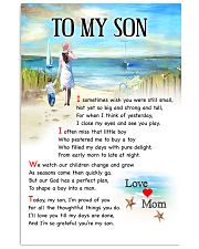 I Am Proud Of You Road Mom To Son 11x17 Poster front