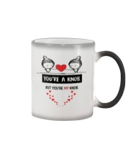 You're A Knob But You're My Knob Color Changing Mug tile