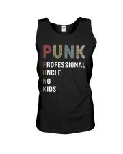 Punk - Uncle Unisex Tank tile
