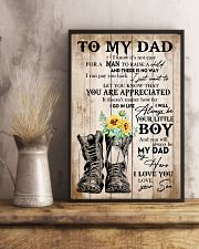 Dad You'll Always Be My Dad My Hero I Love You 11x17 Poster lifestyle-poster-3