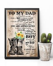 Dad You'll Always Be My Dad My Hero I Love You 11x17 Poster lifestyle-poster-8