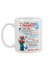 Personalized Name - To My Daughter  Mug back