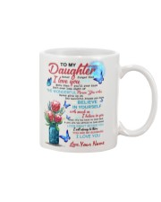 Personalized Name - To My Daughter  Mug front
