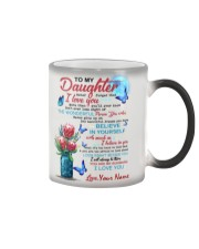 Personalized Name - To My Daughter  Color Changing Mug tile
