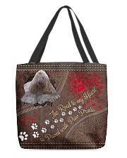 Komodor-dog-the-road-to-my-heart All-over Tote back