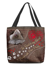Komodor-dog-the-road-to-my-heart All-over Tote front