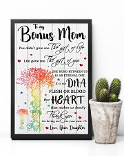 To My Bonus Mom Thank You For Loving Me 11x17 Poster lifestyle-poster-8