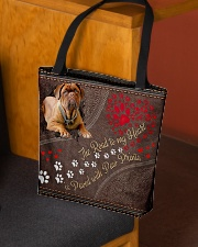 Dogue-De-Bordeaux-dog-the-road-to-my-heart- All-over Tote aos-all-over-tote-lifestyle-front-02