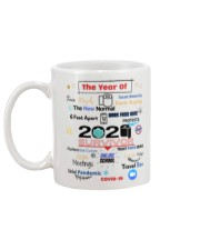 The Year Of Social Distance Panic Buying Covid 19 Mug back