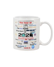 The Year Of Social Distance Panic Buying Covid 19 Mug front