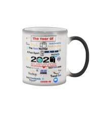 The Year Of Social Distance Panic Buying Covid 19 Color Changing Mug thumbnail