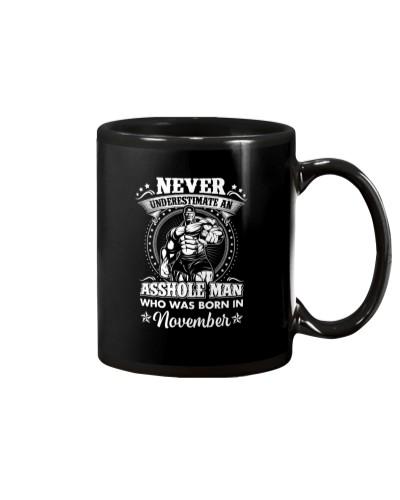 Never underestimate an asshole born in November