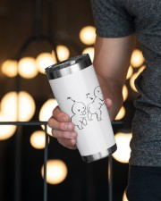Personalized Name Touch Butt All The Time 20oz Tumbler aos-20oz-tumbler-lifestyle-front-19