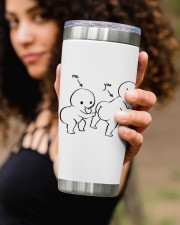 Personalized Name Touch Butt All The Time 20oz Tumbler aos-20oz-tumbler-lifestyle-front-93