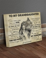 You Are My Sunshine Grandma To Granddaughter 14x11 Gallery Wrapped Canvas Prints aos-canvas-pgw-14x11-lifestyle-front-10