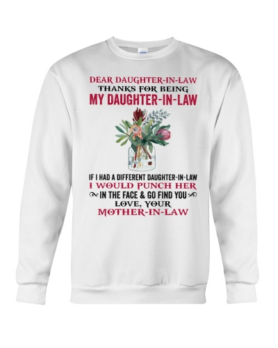 Thanks For Being My Daughter-In-Law