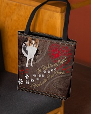 Papillon-dog-the-road-to-my-heart All-over Tote aos-all-over-tote-lifestyle-front-02