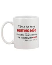 This is my meeting mug Mug back
