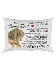 Bonus Dad Lion You'll Always Be My Hero I Love you Rectangular Pillowcase front