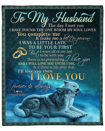 Husband Wolf Want All Of My Last To Be With You