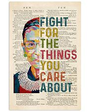 RBG Fight For The Things You Care About 11x17 Poster front