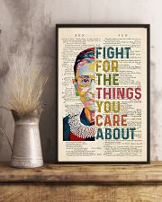 RBG Fight For The Things You Care About 11x17 Poster lifestyle-poster-3