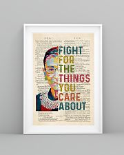 RBG Fight For The Things You Care About 11x17 Poster lifestyle-poster-5