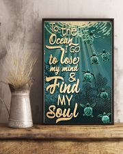 To The Ocean I Go To Lose My Mind 11x17 Poster lifestyle-poster-3