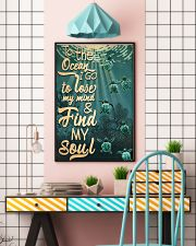 To The Ocean I Go To Lose My Mind 11x17 Poster lifestyle-poster-6