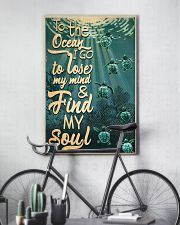 To The Ocean I Go To Lose My Mind 11x17 Poster lifestyle-poster-7